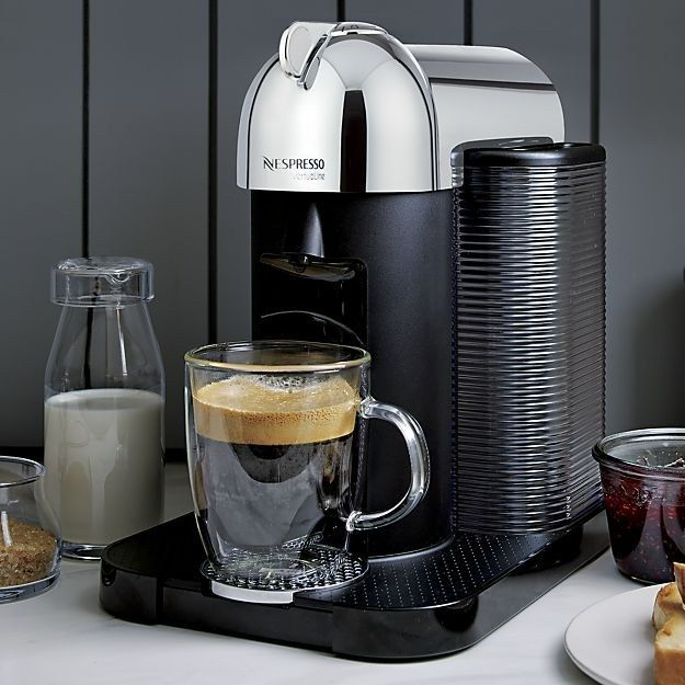 A Nespresso machine to act as your in-home barista.   25 Products For Your Kitchen That Are Actually Worth Spending Your Money On