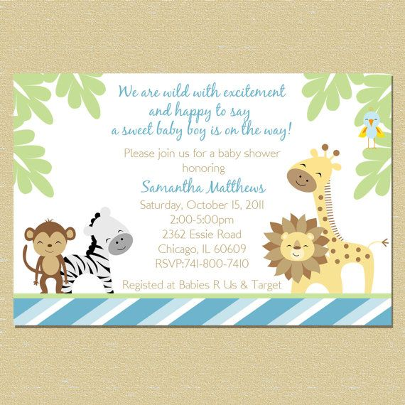 17 Best Images About Baby Shower Invitations On Pinterest