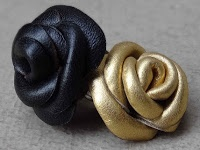 Totally Tutorials: Tutorial - How to Make Leather Roses