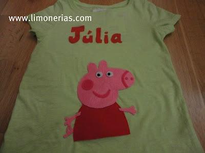 Limonerías: Peppa Pig y Júlia