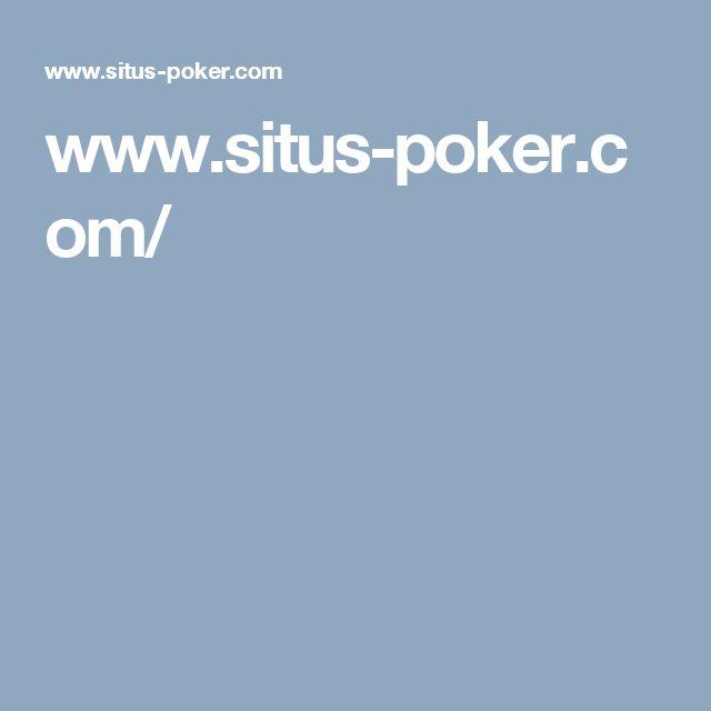 www.situs-poker.com/