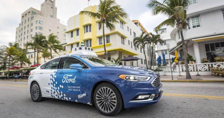 Llegan a Miami los nuevos autos Ford que se manejan solos - CiberCuba #757LiveCU