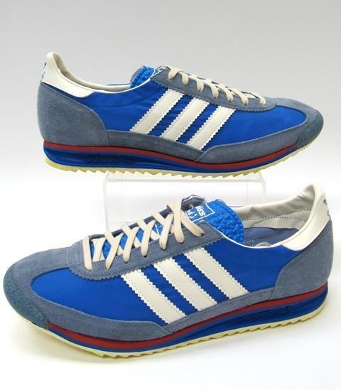 Adidas Sl 72 Originals Vintage 70s Trainers stress