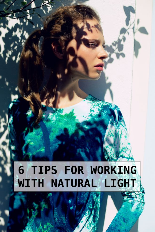 Photography Tips: 6 tips for working with natural light!