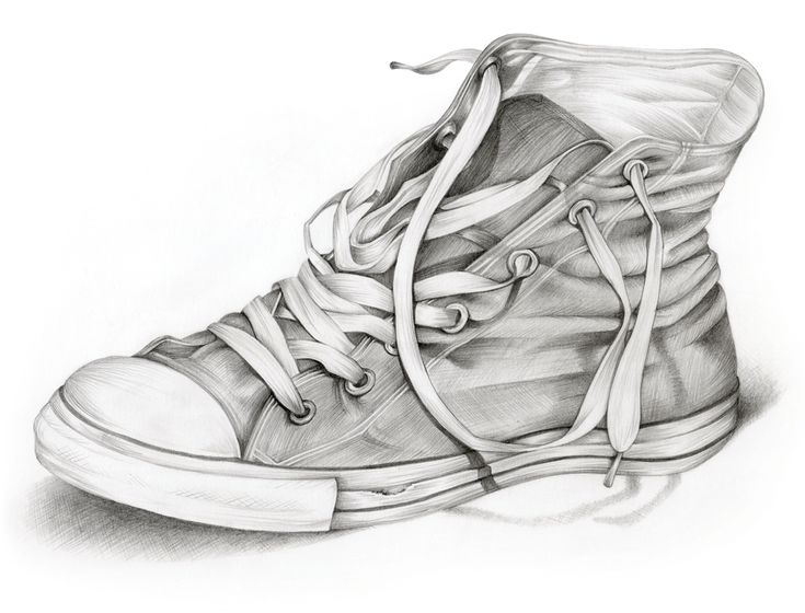 Sketches Of Tennis Shoes