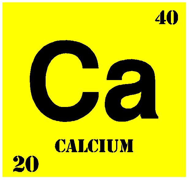 15 best calcium images on pinterest bones calcium rich foods and the element calcium has an atomic number of 20 and a mass number of 40 urtaz Images