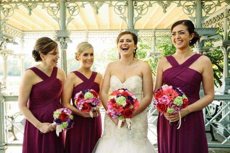 Central Park Wedding Bridesmaids