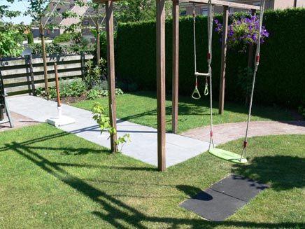Kindvriendelijke tuin in Wageningen