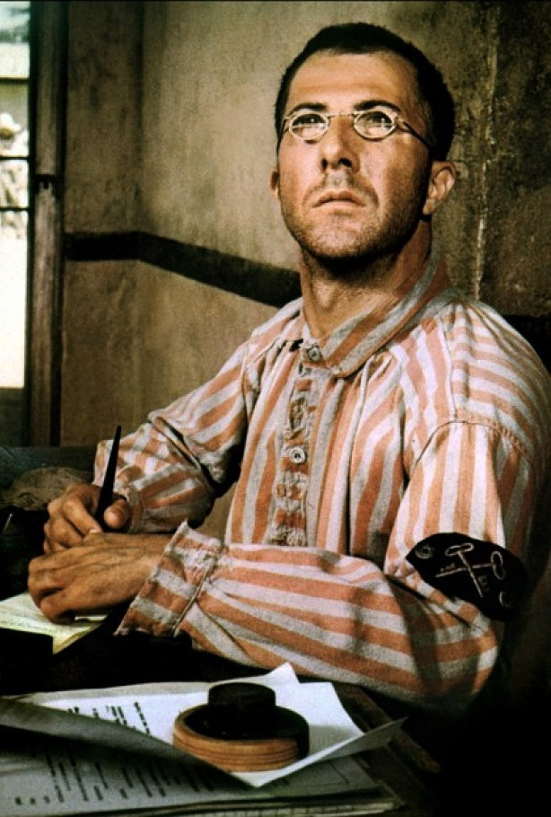 "Dustin Hoffman ( August 8, 1937- ) in ""Papillon"" (Dir: Franklin J. Schaffner), 1973. age 36 #actor"