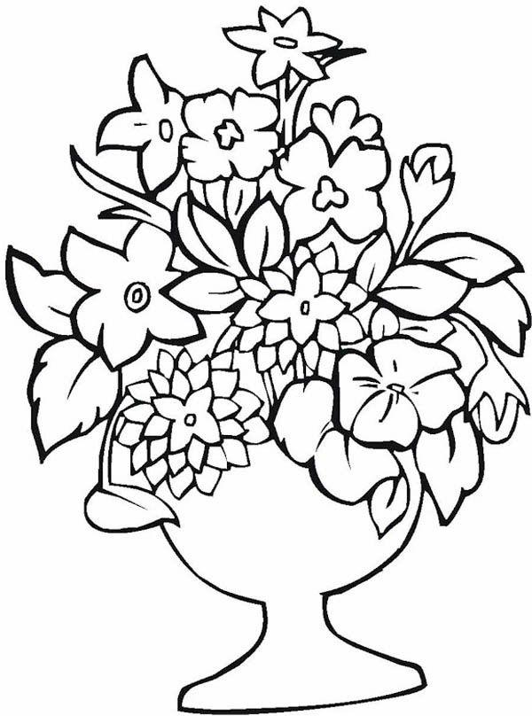 Floreros 24 Dibujos Faciles Para Dibujar Para Ninos Colorear Lustige Malvorlagen Weihnachtsmalvorlagen Malvorlagen Fruhling