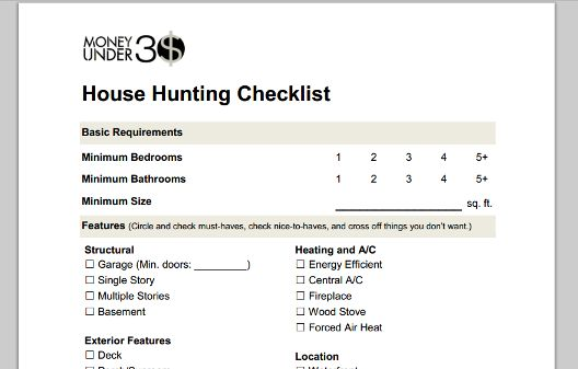 Here is a House Hunting Checklist for your to fill out and share with your agent. Kline May Realty - 1962 Evelyn Byrd Avenue Harrisonburg, VA 22801