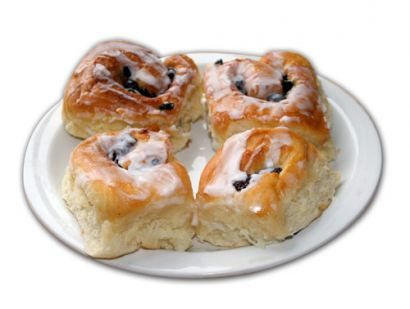 Chelsea Buns - Old Style  Favourite South-African Recipes