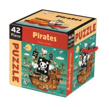 42 piece Pirates - Bobangles #Mudpuppy #pirate #puzzle #kids