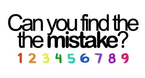 Find the mistake! #riddles www.bndwgn.net: Mistakes, Laughing, Quotes, Random, Finding, Funny Stuff, Things, I'M, Brain Teasers