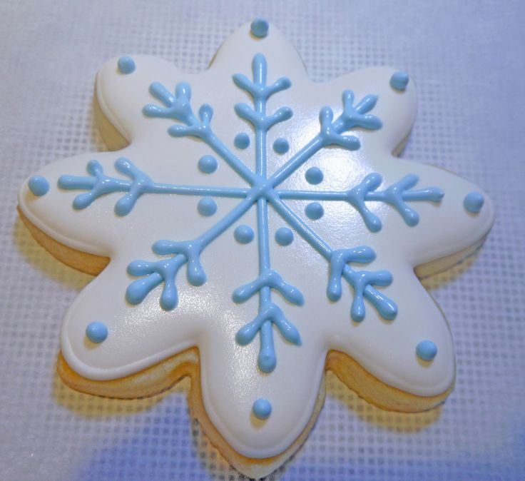 thank you flood cookies | Pipe dots with #2 tip in blue outline icing.