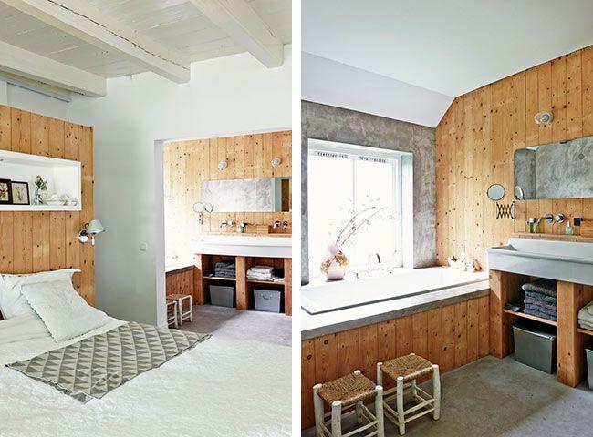 Les 25 meilleures id es de la cat gorie salle de bains for Lambris salle de bain