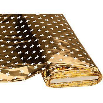 Foliendruck Sterne, gold online kaufen | buttinette Bastelshop