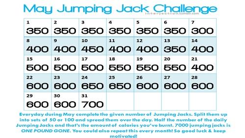 Best 25 Jumping jack challenge ideas on Pinterest