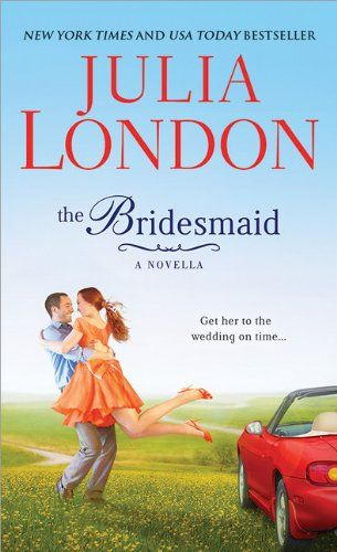 The Bridesmaid by Julia London : http://www.thereadingcafe.com/the-bridesmaid-by-julia-london-promotion-and-giveaway/