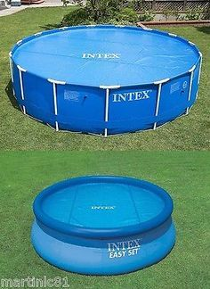 #Intex #swimming pool solar cover 8ft 10ft 12ft heats the water #keeps debris out,  View more on the LINK: http://www.zeppy.io/product/gb/2/361512575029/