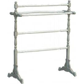 Free Standing Shabby Chic Towel Rail