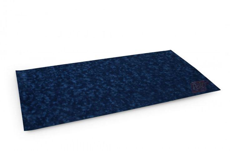 Tapis de poker 120x60 en suédine (bleu) - Pokeo.fr - Tapis de poker 120x60 en suédine bulgommée de couleur bleue.