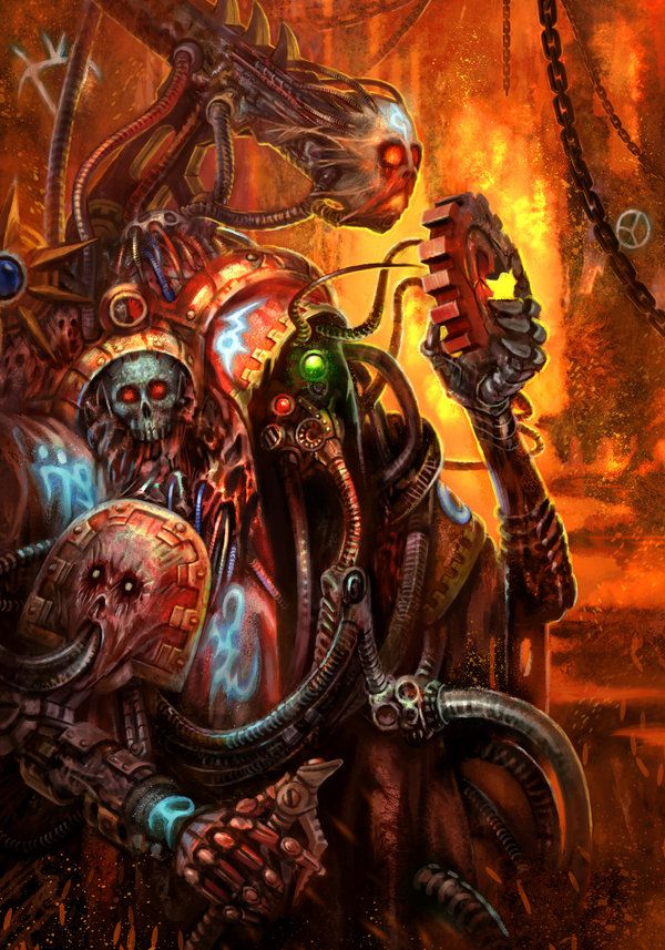 Dark Mechanicus by jubjubjedi.deviantart.com on @deviantART