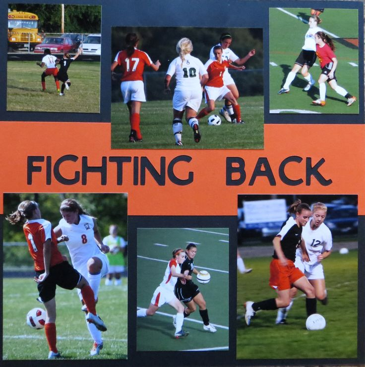 Fighting Back - Aggressive soccer play