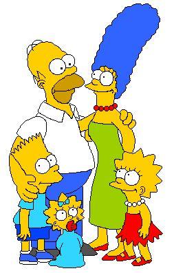 Pixel art — Simpsons Crazy