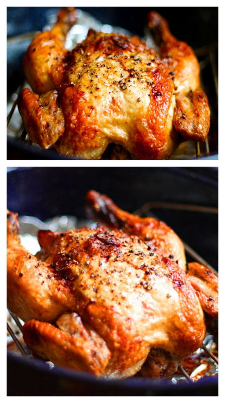 Crispy Roasted Garlic Chicken #protein #lowcarb #savory
