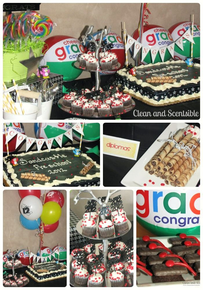 Clean & Scentsible: Preschool Graduation Party.  Everything you need to celebrate your little one's special day!