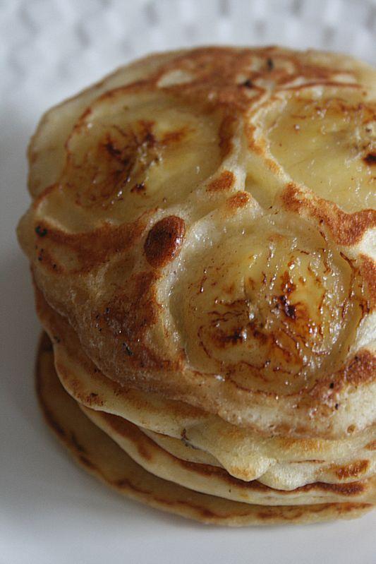 Pancakes à la banane et au yaourt