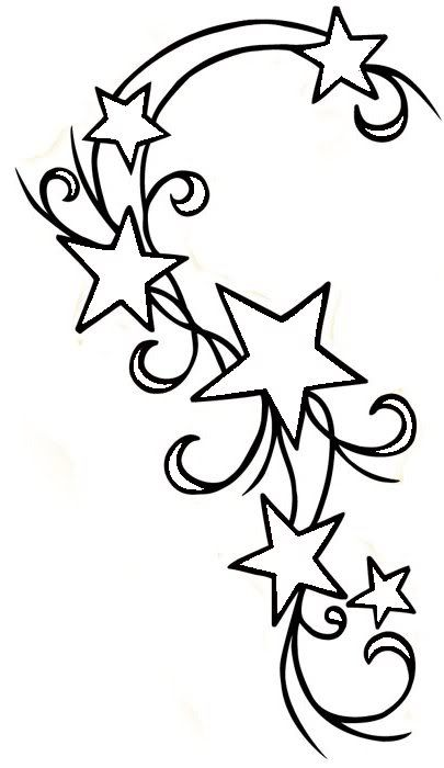 bunches of stars coloring pages - photo#36