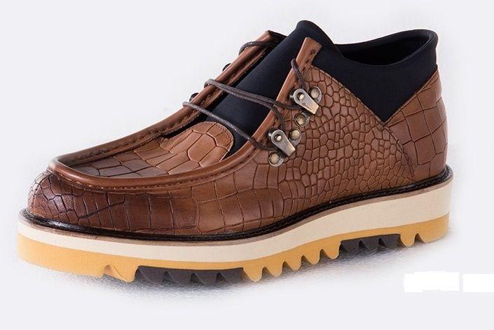 Cipo&Baxx calzado 100% piel contraste. Arriesgarse... Próximamante en nuestra web!