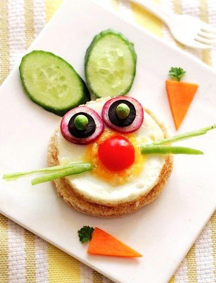 Pas toujours facile de faire manger des œufs aux enfants... la solution: rendre l'assiette un peu plus rigolote pour leur donner envie!!! Alors voilà quelques jolies déco qui feront sensation!!!