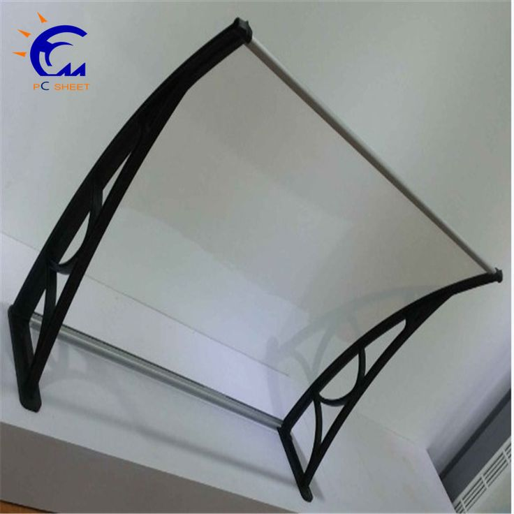 Hangmei portable awning with polycarbonate waterproofing sheet cover