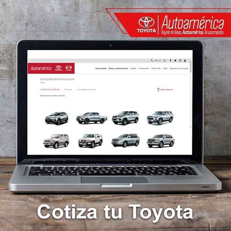 Hace tiempo sabes qué #Toyota quieres, ahora el siguiente paso es cotizarlo en #Autoamérica. Hazlo vía online ingresando a: https://goo.gl/aLMqpc #ServiciosAutoamérica    #ToyotaEsToyota #Autoamérica #100%Toyota #Toyotero #Toyotalover #OffRoad #TeamToyota #ToyotaNation #Toyoteros #4x4 #Toyota #MantenimientoExpress #quickrepair #RepuestosGenuinosAutoamérica #ARB #ARBColombia #Solucar #OldManEmu #AeroKlas #MileMarker