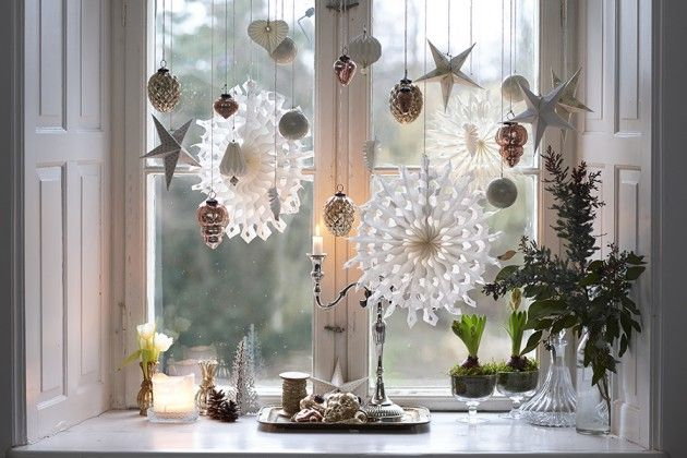 Isabella Smith - Fyld et vindue med hvid jul