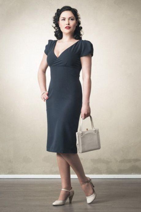 Kleider 50er Jahre Stil Kleid 30er