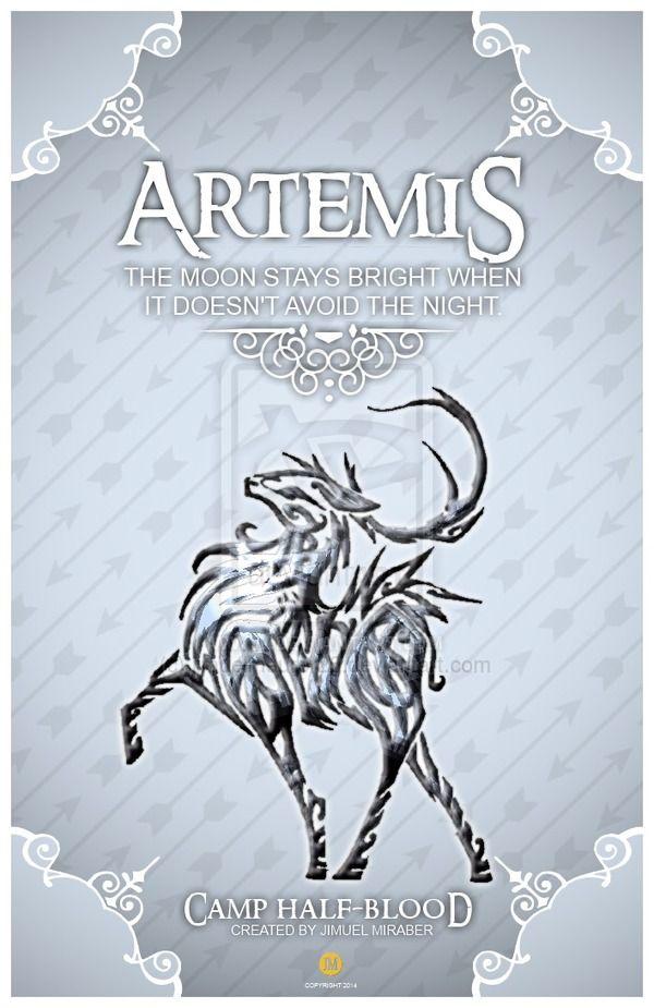 25+ best ideas about Artemis Percy Jackson on Pinterest ...
