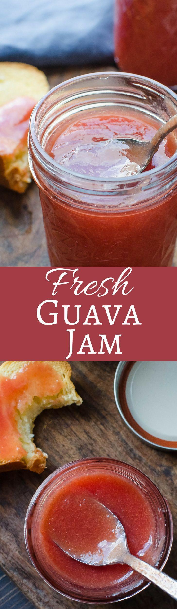 Fresh Guava Jam   Garlic & Zest