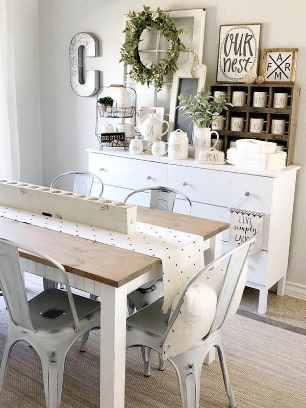 25 Charming Farmhouse Kitchen Decor Ideas Farmhouse Kitchen