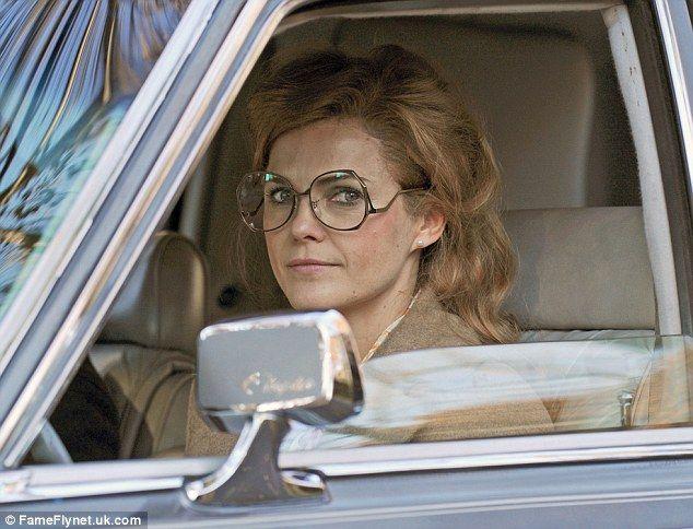 Keri Russell as Elizabeth Jennings -- The Americans