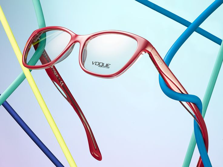 Don't get constricted by the same old colors. Find a fun, flirty new shade in Vogue Eyewear's Rainbow Collection.