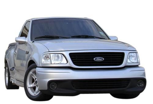 Add a stealthy look to your 1999-2000 Ford SVT Lightning with this SVE smoked fog light tint!