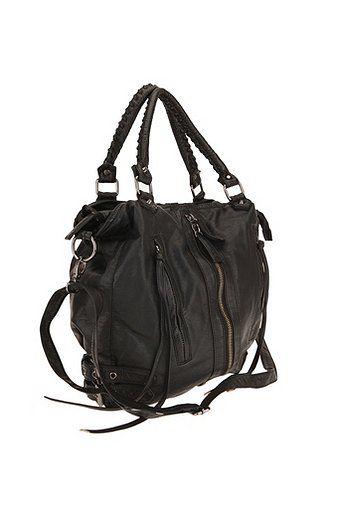 d997d4ebc4 Silence Noise Zip Front Moto Shoulder Bag Black Bags. Gallery Lyst Urban  Outers Deena Ozzy ...
