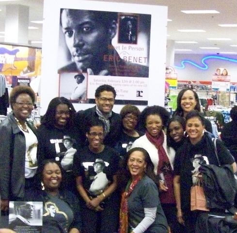 "TEBFs in the house ATL 2011 CD signing of ""Lost In Time"""