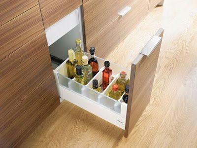 gaveta de cozinha organizada