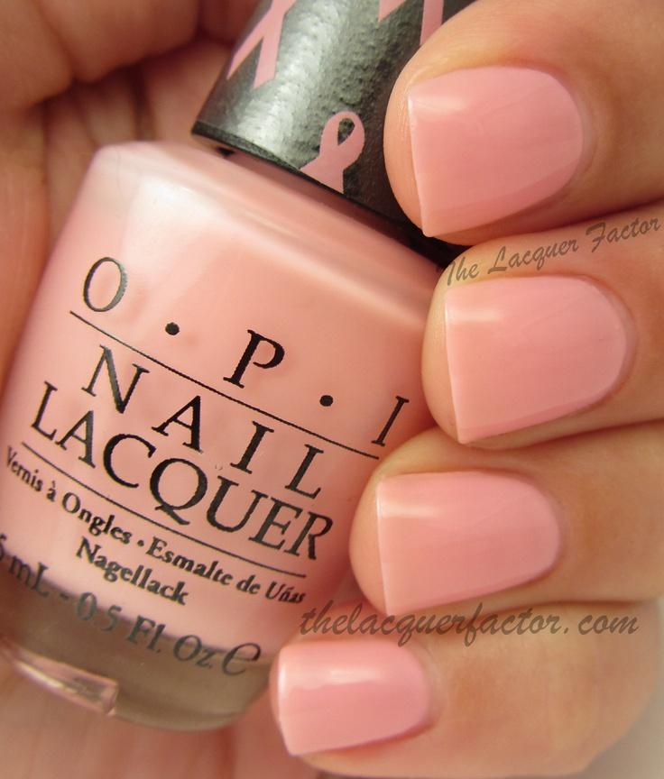@OPI Nail I Think In Pink