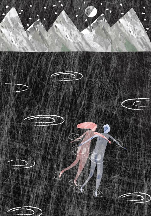 http://lostcontrolcollective.tumblr.com remembering that night, September's coming soon Nightswimming more sketches for a current project